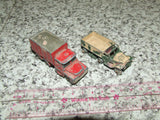 Husky Guy Warrior Coal Truck & Lesney Matchbox M3 Personnel Carrier - Vintage Retro And Vinyl - 8