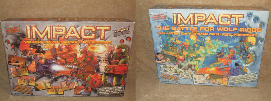 Impact 2 Games Bundle - Episode 1 & Battle For Wolf Ridge - Drumond Park - Vintage Retro And Vinyl - 1