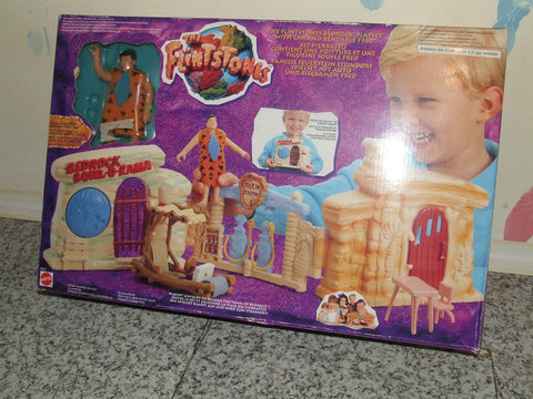 The Flintstones Bedrock Playset Boxed With Instructions Age 3+ 1994 - Vintage Retro And Vinyl - 1