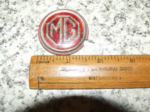 MG Badge - Centre Of Steering Wheel or Gearstick ? - Vintage Retro And Vinyl - 1