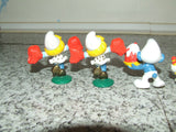 7 x Smurf Figures ~ Peyo, Schliech, McDonalds - Vintage Retro And Vinyl - 2