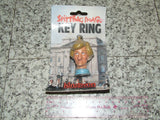 Spitting Image Lady Diana Princess Diana Key Ring Rare Mint On Card 1988 - Vintage Retro And Vinyl - 1
