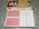 Waddingtons Canasta - Complete Boxed With Rules & Score Cards # 318 - Vintage Retro And Vinyl - 2