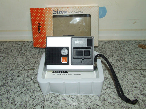 Birex Disc Camera 100x Boxed Made In Singapore - Vintage Retro And Vinyl - 1