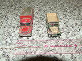 Husky Guy Warrior Coal Truck & Lesney Matchbox M3 Personnel Carrier - Vintage Retro And Vinyl - 3