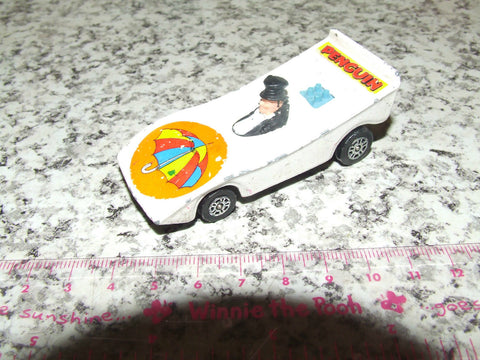 Corgi Penguin-mobile - Un-Boxed - 1979 - Batman & Robin - Playworn - Vintage Retro And Vinyl - 1