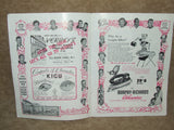 London Palladium Theatre Program 1950's Painting The Town - Norman Wisdom & Ruby Murray - Vintage Retro And Vinyl - 3