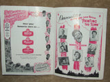 London Palladium Theatre Program 1950's Painting The Town - Norman Wisdom & Ruby Murray - Vintage Retro And Vinyl - 4