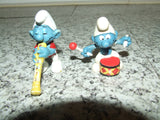 7 x Smurf Figures ~ Peyo, Schliech, McDonalds - Vintage Retro And Vinyl - 4