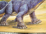 Waddingtons Dinosaurs 150 Pc Jigsaw Puzzle Complete With Poster ~ Lost Valley Artwork - Vintage Retro And Vinyl - 4