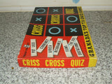 Chad Valley TV's Criss Cross Quiz Complete With Instructions 1950's - Vintage Retro And Vinyl - 3