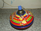 2 x Vintage Spinning Tops, Chad Valley & Chicco - Vintage Retro And Vinyl - 5