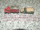 Husky Guy Warrior Coal Truck & Lesney Matchbox M3 Personnel Carrier - Vintage Retro And Vinyl - 9