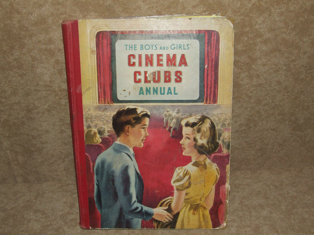 The Boys & Girls Cinema Clubs Annual 1949 Hardback, Janet Leigh, Lassie - Vintage Retro And Vinyl - 1