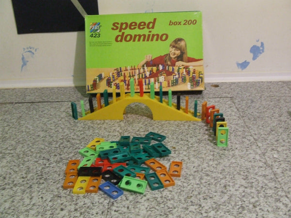 Vintage Speed Domino ~ Age 6 + - Vintage Retro And Vinyl - 1