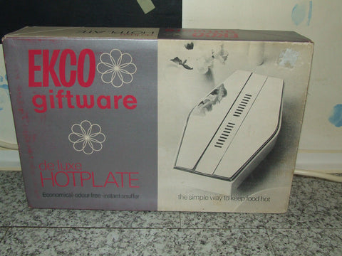 EKCO De-Luxe Hotplate ~ Boxed ~ Retro ~ Fabulous Collectable Kitchenalia - Vintage Retro And Vinyl - 1