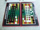 Invicta Games Passport Series Backgammon Boxed With Instructions 1973 - Vintage Retro And Vinyl - 6