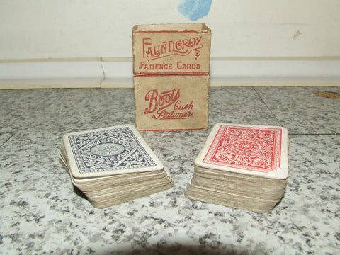 Fauntleroy Patience Playing Cards ~ Boots Cash Stationers ~ Incomplete - Vintage Retro And Vinyl - 1