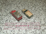 Husky Guy Warrior Coal Truck & Lesney Matchbox M3 Personnel Carrier - Vintage Retro And Vinyl - 7