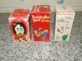 Soap x3 Flower, Paddington Bear, Babar The Elephant - All Boxed & Unused - Vintage Retro And Vinyl - 6