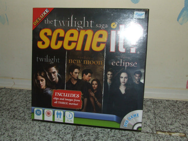 The TWILIGHT SAGA Scene It Deluxe Edition DVD -BRAND NEW & SEALED - Edward/Bella - Vintage Retro And Vinyl - 1