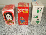 Soap x3 Flower, Paddington Bear, Babar The Elephant - All Boxed & Unused - Vintage Retro And Vinyl - 7