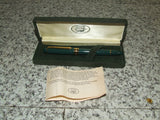 Laura Ashley Green & Gold Fountain Pen & Hard Case - Vintage Retro And Vinyl - 1