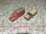 Husky Guy Warrior Coal Truck & Lesney Matchbox M3 Personnel Carrier - Vintage Retro And Vinyl - 1