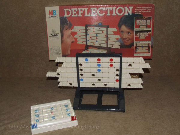 Deflection - MB Games - Boxed & Complete 7+ 2 Players - 1981 Vintage VGC - Vintage Retro And Vinyl - 1