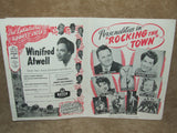 London Palladium Theatre Program 1956-Rocking The Town- Secombe, Cogan, Reid, Atwell - Vintage Retro And Vinyl - 10