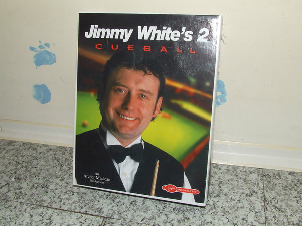 Jimmy White's 2 - Cueball - Rare Big Box Edition - New In Sealed Box PC CD Rom - Vintage Retro And Vinyl - 1