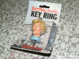 Spitting Image Lady Diana Princess Diana Key Ring Rare Mint On Card 1988 - Vintage Retro And Vinyl - 4
