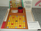 Waddingtons Play On Words-The Portable Cross Cube Word Game - Boxed/Comp - Vintage Retro And Vinyl - 3