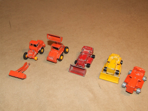 Lesney 5 Vehicle Construction Bundle For Spares Or Repair Vintage 1960's - Vintage Retro And Vinyl - 1