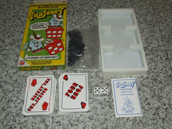 Snafooey Card Game by Peter Pan Playthings 1983 Boxed/Complete With Instructions - Vintage Retro And Vinyl - 1