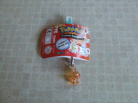 Pokemon Crystal Dangler - Torchie With Tag - Vintage Retro And Vinyl