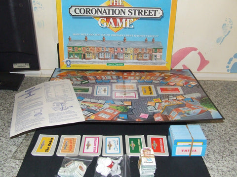 Waddingtons The Coronation Street Game - Vintage Retro And Vinyl - 1