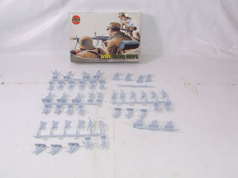 Airfix WWII Afrika Corps German Rommel Troops Boxed 1/72 Scale