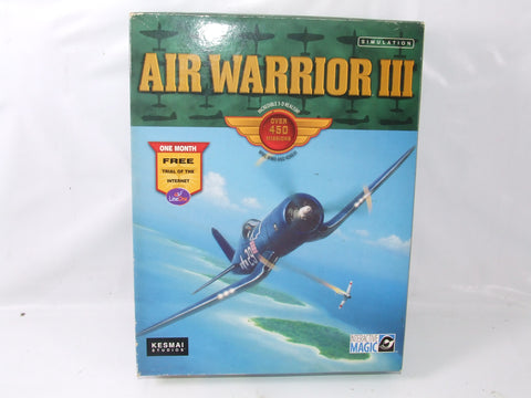 Air Warrior III PC CD Rom Game Big Box Version