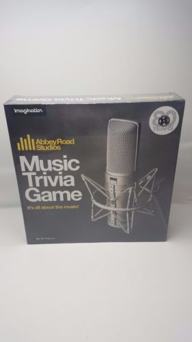 Abbey Road Studios Music Trivia Game It's All About The Music Brand New Sealed