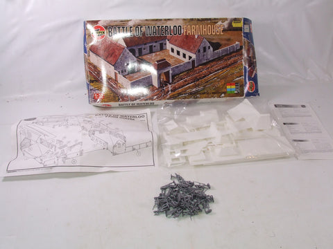 Airfix Battle Of Waterloo Farmhouse PLUS French Infantry Figures 1/72 Scale