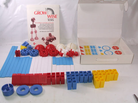 Amyway Grow Wise Top Express Pre School Construction Set 1980's