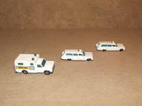 Lesney Matchbox Moko Superfast Ambulances 2 x 54, 1 x 41 Unboxed Playworn - Vintage Retro And Vinyl - 3