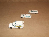 Lesney Matchbox Moko Superfast Ambulances 2 x 54, 1 x 41 Unboxed Playworn - Vintage Retro And Vinyl - 5