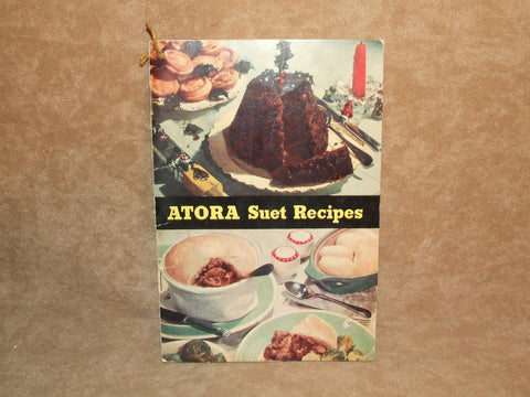 Atora Suet Recipes Book Made In England Vintage 1950's - Vintage Retro And Vinyl - 1