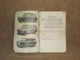 BMC The Austin Seven Drivers Handbook - Vintage MINI - 1960's - Vintage Retro And Vinyl - 1