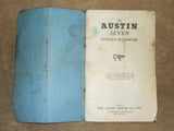 BMC The Austin Seven Drivers Handbook - Vintage MINI - 1960's - Vintage Retro And Vinyl - 4