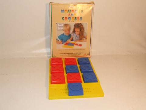 Avon Toys Smilers Naughts And Crosses Game Boxed And Complete Vintage 1974 Game