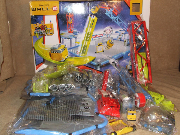 Disney Pixar Wall E Axiom Station Racing Playset Boxed Unused Sealed Parts - Vintage Retro And Vinyl - 1