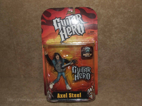 Guitar Hero - Axel Steel - New On Card - Vintage Retro And Vinyl - 1
